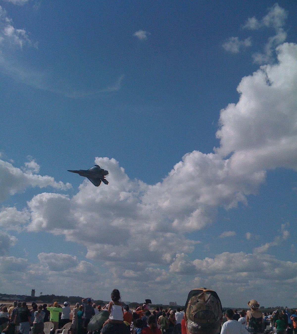 F-22 Raptor, Baby!