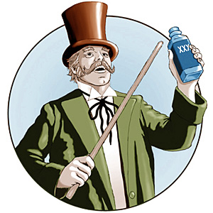 The Social Media Snake Oil Saleman