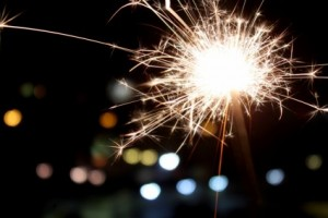New Years Eve Sparks Stellina by Giuliamar